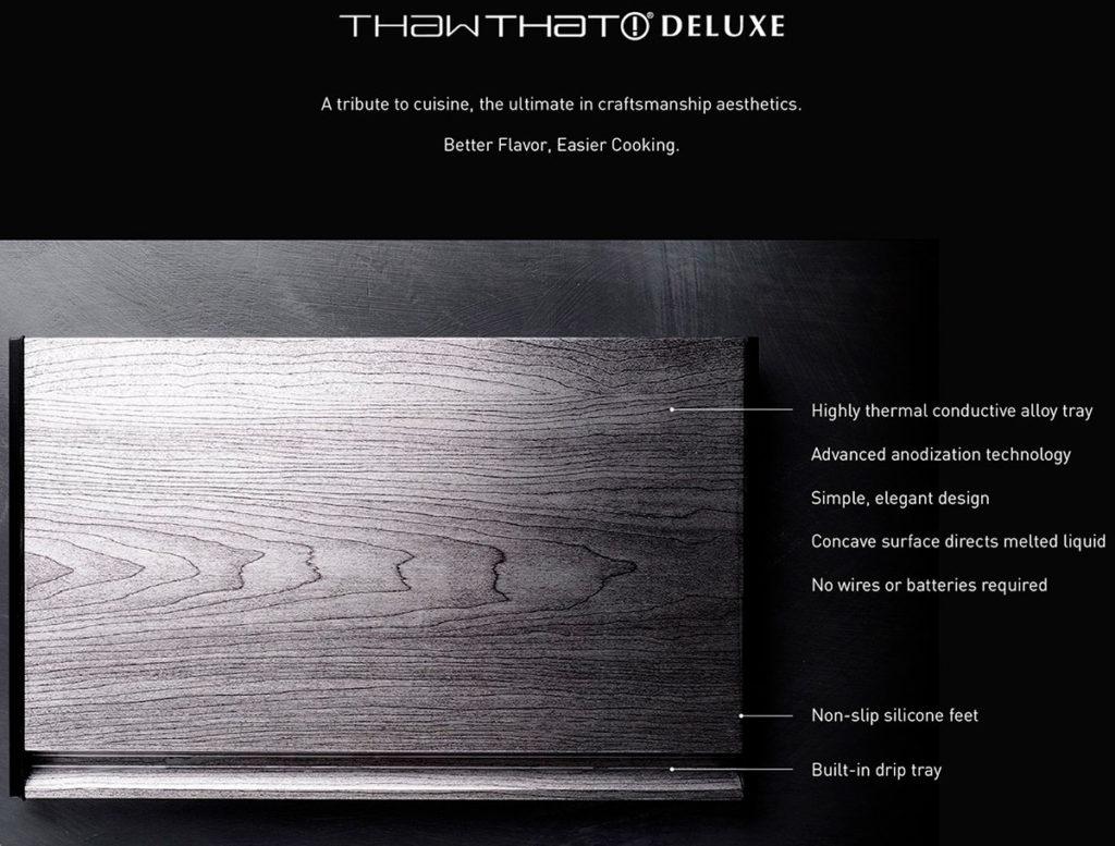 ThawTHAT Deluxe características