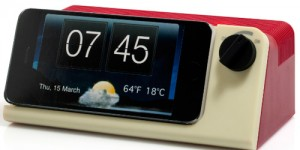 Altavoz inalámbrico retro para móvil y MP3
