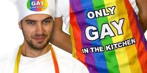 Delantal y Gorro Gay