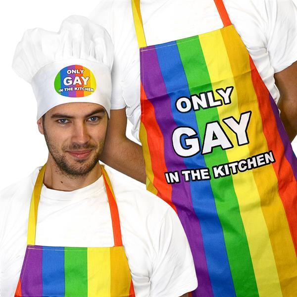 only-gay-on-the-beach-schort-en-koksmuts-hoofd