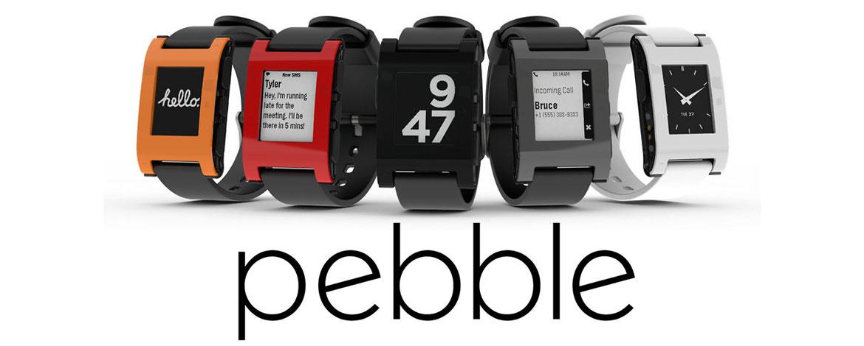 pebble relojes