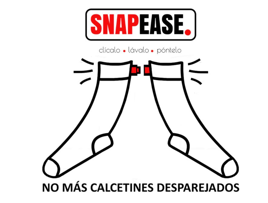 Snapease, no más calcetines desparejados